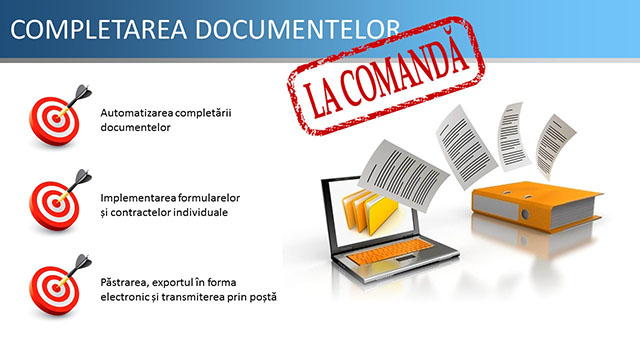 COMPLETAREA DOCUMENTELOR